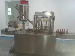 Sanitizer Cap Sealing Machine