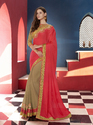 Sequence Lace Border Saree