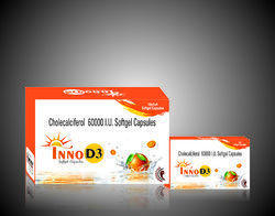 Pharma Franchise Opportunity Of Inno D3 Softgel Capsules