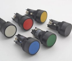 illuminated Push Button Red Push Button, Model Name/Number: Xb5aw34b2n, for Industrial