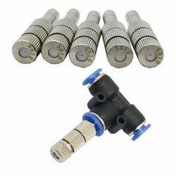 Sanitizer Turnal Spraying Nozzle System