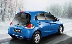 Honda Brio Blue Colour Car Repairing Service