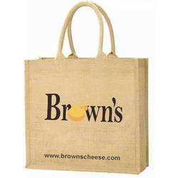 Jute Promotional Bag with Logo