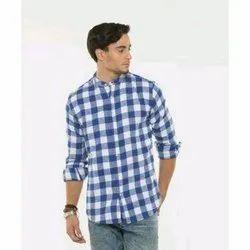 JD Choice Checked Mens Cotton Check Shirt, Size: S-xxl