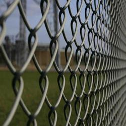 Silver Chain Link Fencing