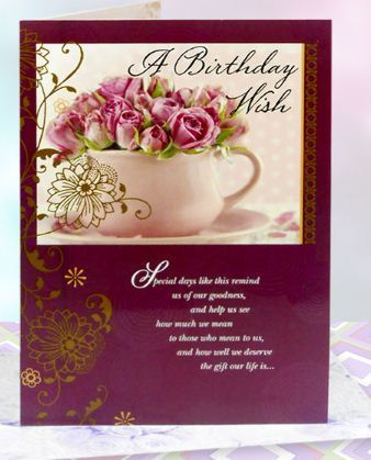 A birthday wish card at rs 99 greeting card archies gallery a birthday wish card bookmarktalkfo Image collections