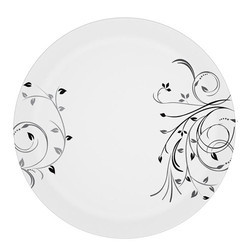 Melamine Sporty Black Beauty Dish