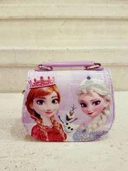 Pink Frozen Sling Bag