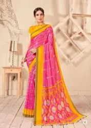 Shreyans Fashion Jute Silk Vol 2 Linen Jute Sarees