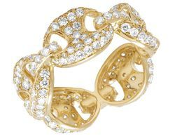 Adroit Ring Gold And White New Varieties Are Introduced One After Another Fashion Jewelry