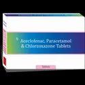 Aceclofenac Chlorzoxazone Paracetamol Tablet