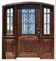 Exterior Solid Wood Elegant Wooden Doors, For Home