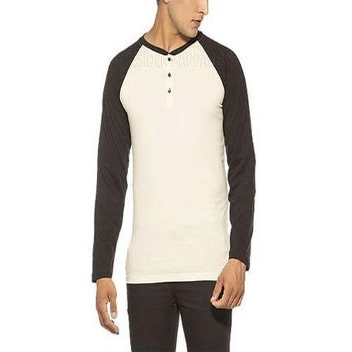 95f74c2a7b9 Cotton Henley Neck Men  s Designer T-Shirt
