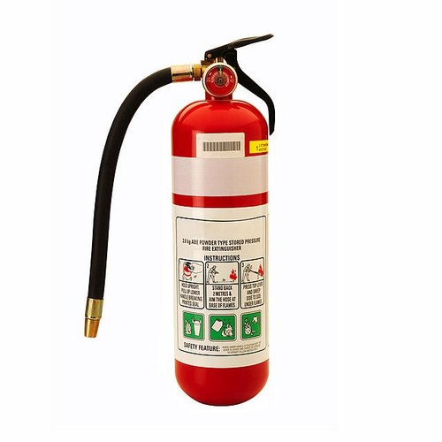 Mild Steel Portable Fire Extinguisher