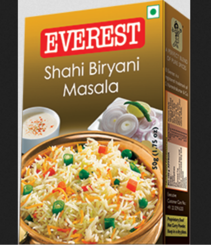 Everest Masala - Everest Shahi Biryani Masala Distributor / Channel