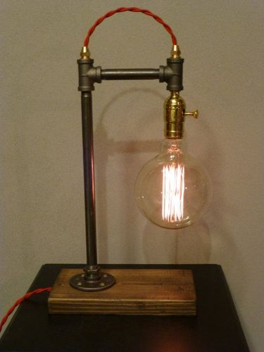 Fluorescent craft looks vintage stylish modern pipe table lamp rs fluorescent craft looks vintage stylish modern pipe table lamp mozeypictures Image collections