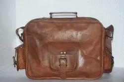 Genuine Leather Vintage Brown Portfolio Bag