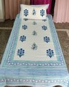 Hand Block Printed Single Bedsheets