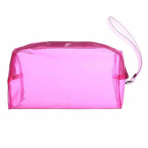 91be7ed75baf PVC Cosmetic Bags, Pvc Bags | Bhatena, Surat | Maruti Creation | ID ...