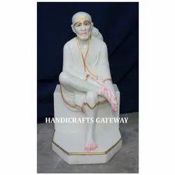 Pure Marble Shirdi Sai Baba Statue