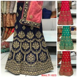 Fashion Reloader Casual Wear Designer Silk Lehenga Choli