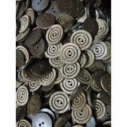 Kumar Buttons Round Wooden Shirt Button