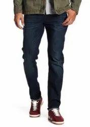 Mens Cotton Carbon Black Jeans