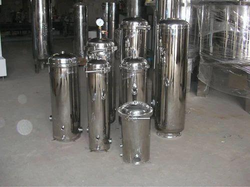 SS Liquid Micron Filter Tank