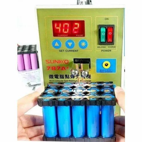 Sunkko 787A Plus LED Pulse Battery Spot Precision Welding Machine