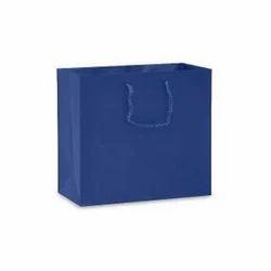 Blue Paper Carry Bag