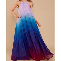Tie Dye Cover Up Long Dress