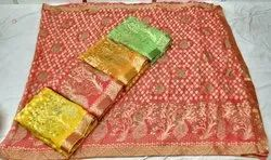 Ligalz Present Brasso Saree With Lace