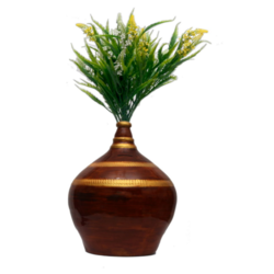 Flower Pot With Money Bank