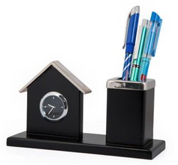 Clock and Pen Stand
