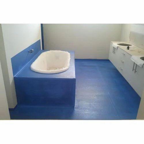 Blue Bathroom Waterproof Membrane