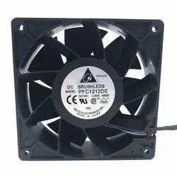 Delta Cooling Fan PFC1212DE 120x120x38mm 12V PWM 4-pin 252.8 CFM 5500 RPM66.5 dB(A)