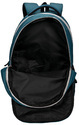 T Green  3 Compartment Large School Bag