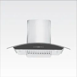 Pie DJ White Chimney, For Domestic And Commercial, Size: 60 Cm