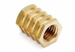 Brass Cross Knurling Inserts, Size: 3 Inch