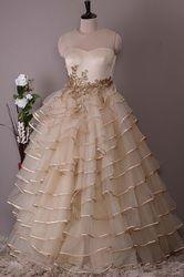 Ladies Net Gowns