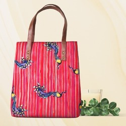 Magnetic Closure Tote Bag