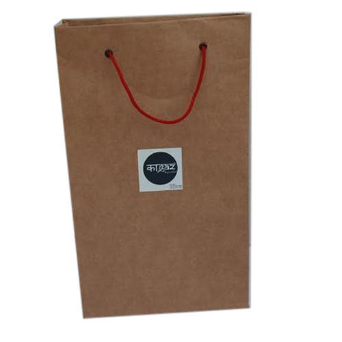 b49045e228c Brown Paper Shopping Bag at Rs 15  piece