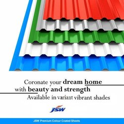 JSW Branded Color Coated Profile Sheet