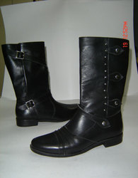 Ladies Fashion Leather Full Boot