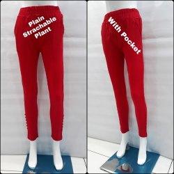 Plain Stretchable Pant
