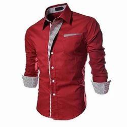 Cotton Party Wear Mens Stylish Shirt