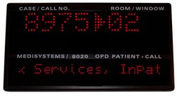 Wall Mounted OPD Patient-Call Systems