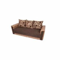 Wooden,Mild steel Modern 3 Seater Sofa Cum Bed, For Home,Office