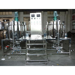 Cosmetic Cream Mixer Machine