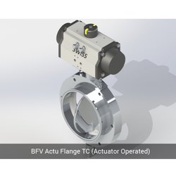 BFV Actu Flange TC Actuator Operated